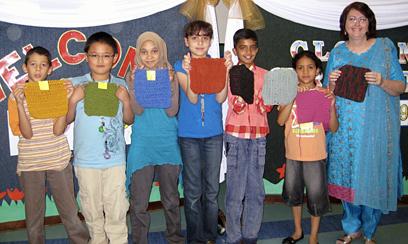Knit-a-square Teacher Resource