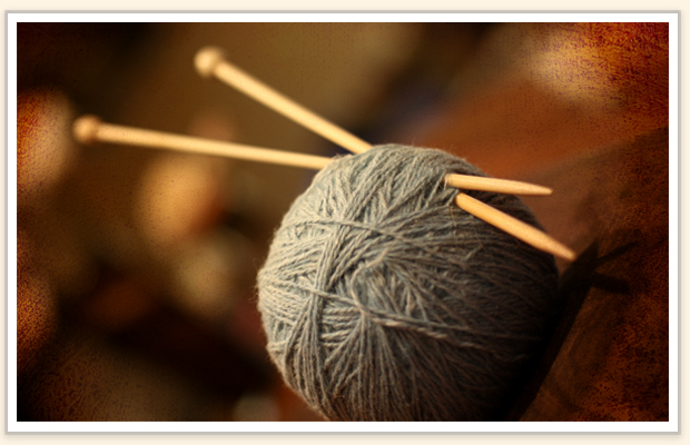 learn how to knit with these simple instructions