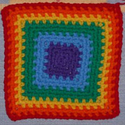 Chain Stitch Square