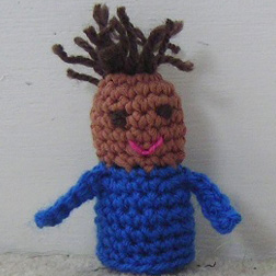 Bad Hair Day Finger Puppet