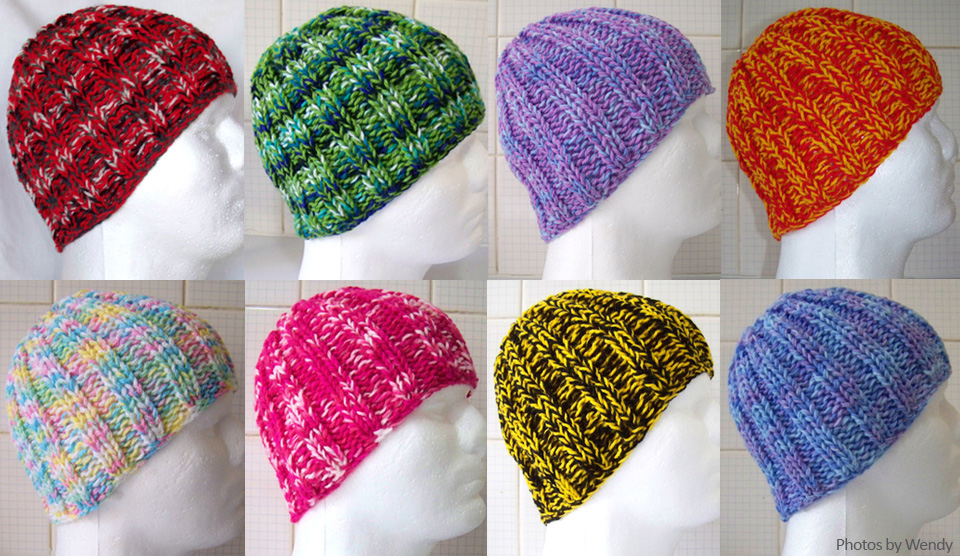 Use This Free Knitting Pattern To Knit A Hat Or Beanie For Knit A Square