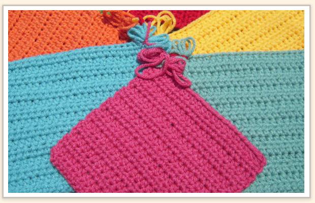 Square crochet pattern