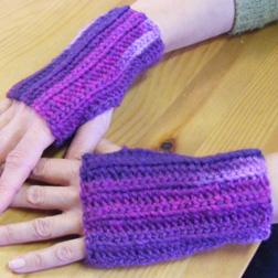 Chauffe-mains au crochet